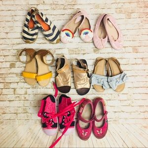 Other - Lot Of 8 Little Girl Shoes  SZ 9 & 10